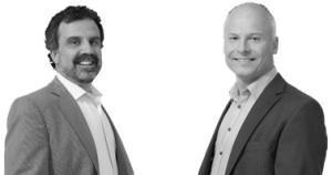 Roy Bartilson och Per Malmberg. Två profiler när ledningsgrupper och innovation står på agendan.
