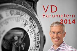 Mats Frid på Ledarskaparna presenterar 2014-års VD-Barometer.